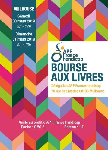 Mars 2019 - Affiche - Flyer Bourse aux livres.jpg